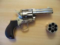 gun 45 guns revolver sixgun uberti thunderer