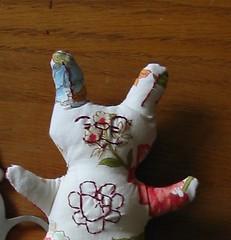 Girl Mini-Bunny (Rhelynn) Tags: rabbit bunny bunnies animal mos toy stuffed mini softies kawaii