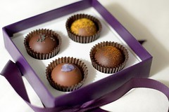 Vosges (Heather Leah Kennedy) Tags: food ginger candy chocolate violet chocolates curry wasabi paprika vosges truffles awesomevalentinesgift