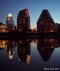austin (TexasValerie) Tags: reflection buildings austin dawn downtown frost texas townlake daybreak