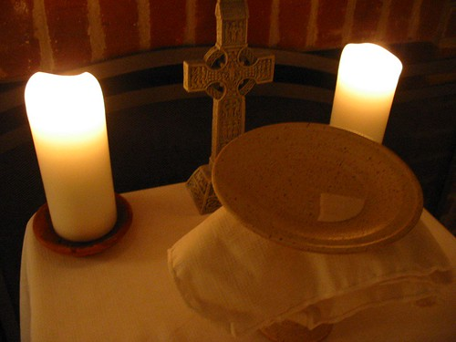 february eucharist: + Alan  / Alan Creech