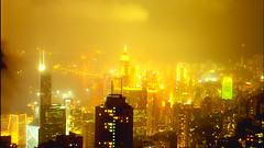 City Of Light (Coquine!) Tags: light panorama night skyscraper hongkong peak