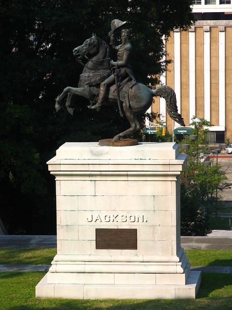 Andrew Jackson Statue, Nashville, TN