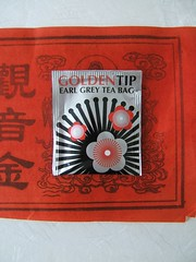 TEA packet (geishaboy500) Tags: red bag grey golden design still graphics asia tea delicious tip gmail com earl packet geishaboy500