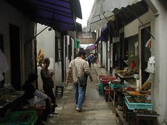 Temptations (GustavoG) Tags: china street people food man walking unmodified guess watching selling riddle zhujiajiao