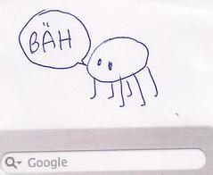 Google アドワーズで落書き