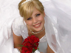 This is gonna be fun! (Deluxe_373) Tags: wedding roses woman love girl beauty smile bride model hugs weddingday georgeous