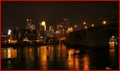 City Lights (Bubba Trout) Tags: city minnesota tag3 taggedout lights downtown tag2 tag1 minneapolis allrightsreserved i500 allrightsreserved interestingness1500 3waychallenge 3wc