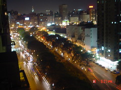 crowded cairo by night (Becem) Tags: light night egypt cairo avenue buldings crowded