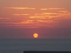 First Sunrise (rocketChips) Tags: ocean sun sunrise mexico baja cabosanlucas intothesun