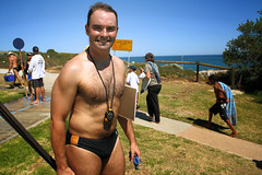 Race official (Cottesloe Seadragon Festival) (sengsta) Tags: portrait cottesloe aussies surflifesaver seadragonfestival cottesloesurfclub