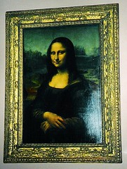 Mona Lisa, The Louvre, Paris, France (Snuffy) Tags: paris france museum europe louvre monalisa