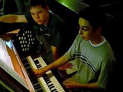 Organ students