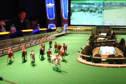 Simulated Horse racing.