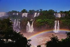 Iguazu Falls, Argentina & Brazil (Thad Roan - Bridgepix) Tags: 200511 brazil southamerica argentina topv111 ilovenature waterfall rainbow falls jungle waterfalls iguazu iguazufalls iguaufalls iguasu fozdoiguau cataratasdeliguaz cataratasdoiguau puertoiguaz