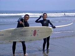 Japanese surfer (manganite) Tags: blue girls sea summer sky people cute men beach water colors beautiful beauty fashion sport japan strand digital asian japanese sand women asia pretty seasons tl surfer young teens style bluesky playa guys casio babes surfboard teenager  onecolor nippon gals swimsuit girlies nihon kanto wetsuit swimwear baador thecolorblue stylish vsign ibaraki japanesegirl oarai manganite challengeyou challengeyouwinner cyniner date:year=2005