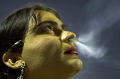 Unholy Smoke (Fayyaz Ahmed) Tags: cigarette smoke transvestite smoker transexual gender eunuch hijra