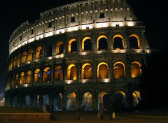 Colosseum (Brian Utesch (shutterBRI)) Tags: italy rome roma tag3 taggedout architecture night canon photography photo ancient tag2 italia tag1 stadium capital stock 2006 powershot architectural colosseum coliseum a80 top20night top20arch top20history shutterbri 70points top20landmarks mireasrealm bluelist challengeyou challengeyouwinner specobject brianutesch flickrchallengegroup flickrchallengewinner photofaceoffwinner photofaceoffplatinum pfogold brianuteschphotography
