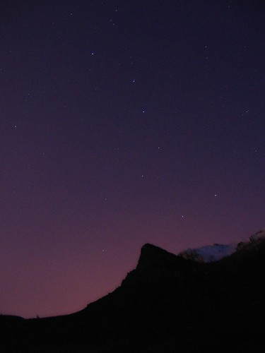 Big Dipper in Predawn Twilight by JPStanley