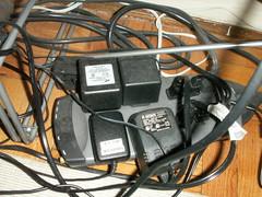 Este también es otro ejemplo que nos muestra la cantidad de cables para tan pocos aparatos