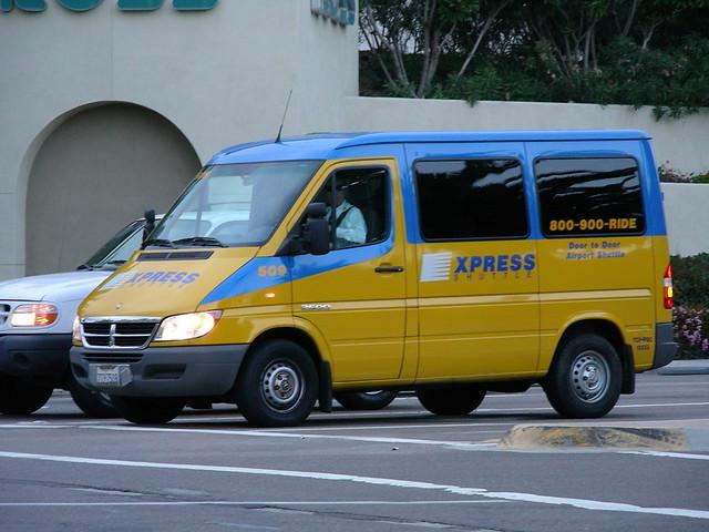 shuttle dodge express van sprinter expressshuttle