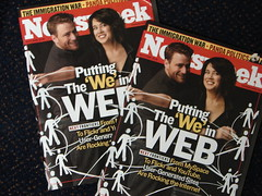 Flickr Cofounders on the Cover of Newsweek