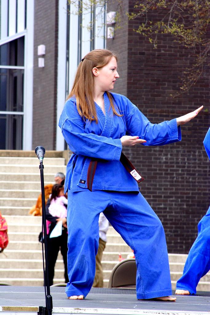 Martial Arts Exhibit