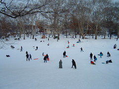 Snow day at Clark Park (by ceg)