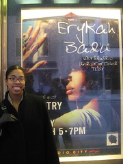 SiSi and Badu Poster (cujewell22) Tags: new york 2004 concert concerts badu erykah amel floetry larrieux