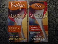 Realignment of Pacific Almond Milk