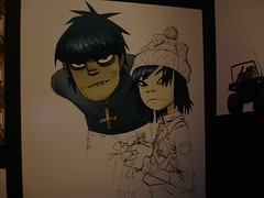 Gorillaz and Jamie Hewlett