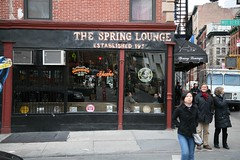 Giving the Finger at The Spring Lounge by aturkus, on Flickr