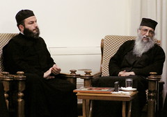 Eis polla eti! (phool 4  XC) Tags: people lebanon loving monk christian holy elder wise priest orthodox orthodoxchristian لبنان baskinta بيتربروباخر hieromonk athonite geronda phool4xcnetphotos phool4xc