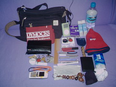 what's [really] in my bag? (threed) Tags: water hat pencil keys mirror ipod yeah wallet bored saturday 2006 mobilephone april homealone whatsinyourbag pens lipgloss ladybirds whatsinmybag comb woot earphones busticket tissues lipbalm idcard paracetamol keyrings prescriptiondrugs views1500 whatsreallyinmybag views2000 views2500 heapsofcrap ifoundstuffiforgotihad cottoncarrybag newused luckylog noworrybeads nailfiles cuticlecutter hairholderupperer neverenoughmoney myentirelife myfirst100views myfirst200views whatsreallyinyourbag omg500views views3000 myfirst1000views views1750 over1600views