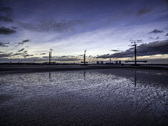 New Mersey Gateway (Steve Samosa Photography) Tags: newmerseygateway runcornbridge runcorn widnes wiggisland aerial dji water river mersey sky