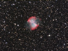 M27 (-mrh) Tags: nebula astrophotography planetary m27 dumbbell vulpecula st8xme stf7