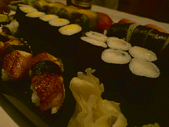 Huge tray of Sushi at Fuku-sushi (Christian) Tags: sushi japanesecuisine