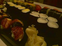 Huge tray of Sushi at Fuku-sushi (Christian) Tags: sushi japanesecuisine