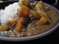 Making Japanese Curry, Side-Shot