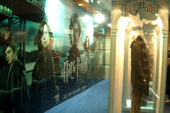 Huge Harry Potter Displays With Real Costumes