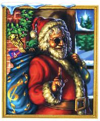 Have a Jerry Christmas! (hokulea) Tags: santa topv111 topv2222 interestingness topv1111 topv222 gratefuldead topv5555 card santaclaus happyholidays topv9999 topv11111 merrychristmas topv3333 topv4444 greetingcard jerrygarcia topv8888 topv6666 topv7777 jerrychristmas oldandintheway friendofthedevil