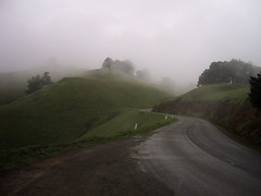 the marin nothing (shaderlab) Tags: 2005 california road ca favorite green fog dam marin mttam curve asphalt mounttam alpinedam mttamalpias mounttamalpias