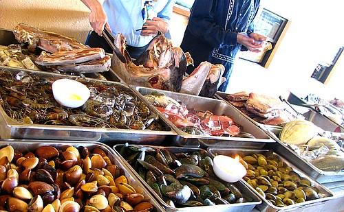 seafood...