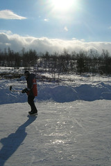 Hockey on the pond (eastick_east) Tags: pond hockey winter sudbury ontario canada