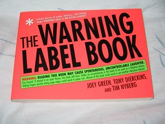 the warning label book
