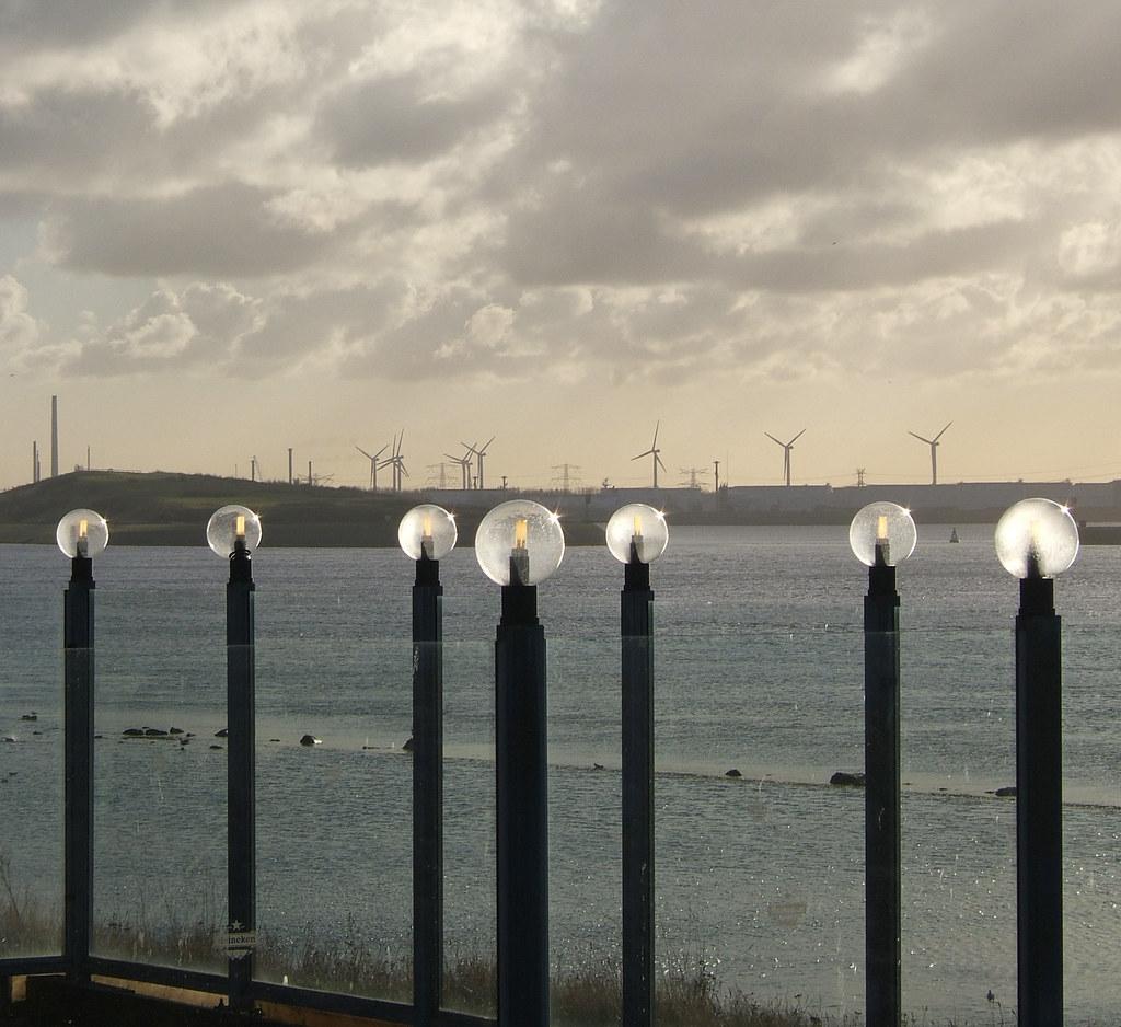 big bulbs and windmills