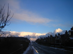 st combs high street landscape (Byrnesyliam) Tags: sky stcombs highstreet clouds