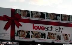 love actually... (woolloomooloo) Tags: woolloomooloo nikondigital loveactually movie coolpix billboard emmathompson liamneeson hughgrant rowanatkins alanrickman keiraknightly colinfirth lauralinney sweet funny touching loving christmas