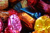 Temptation (Bruno Girin) Tags: pink blue orange yellow chocolate sweets qualitystreet