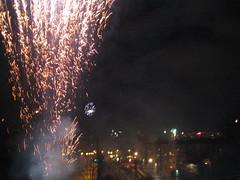 Silvester 2005: Stuttgart bei Nacht
